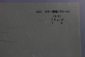 p35 カラー雲龍(クリーム)